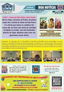 Clique aqui e leia nosso Jornal Boa Notícia de Junho