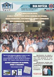 Clique aqui e leia nosso Jornal Boa Notícia de Fevereiro