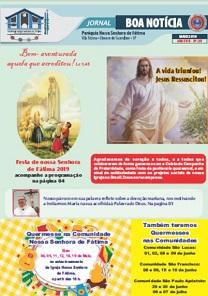 Clique aqui e leia nosso Jornal Boa Notícia de Maio