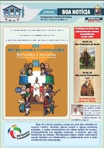 Clique aqui e leia nosso Jornal Boa Notícia de Outubro