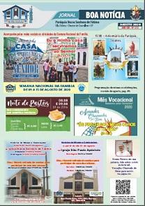Clique aqui e leia nosso Jornal Boa Notícia de Agosto