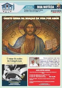Clique aqui e leia nosso Jornal Boa Notícia de Novembro